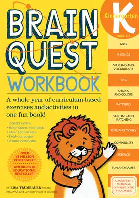 Brain Quest Kindergarten Workbook - Trumbauer, Lisa