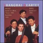 "Bridge: Quartet in E minor ""Bologna""; Noveletten; Ravel: Quartet in F"