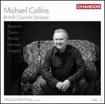 British Clarinet Sonatas, Vol. 2: Benjamin, Cooke, Arnold, Horovitz, Gregson
