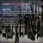 Britten: Double Concerto for Violin & Viola; Variations on a Theme of Frank Bridge; Les Illuminations