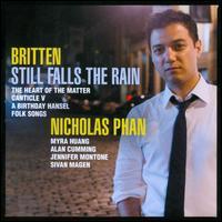 Britten: Still Falls the Rain - Alan Cumming; Jennifer Montone (horn); Myra Huang (piano); Nicholas Phan (tenor); Sivan Magen (harp)