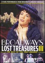 Broadway's Lost Treasures, Vol. 3
