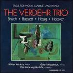 Bruch, Bassett, Hoag, Hoover: Trios for Violin, Clarinet and Piano