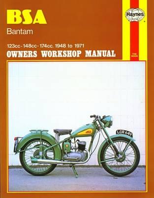BSA Bantam Owners Workshop Manual: 123cc 148cc 174cc 1948-1971 - Clew, J