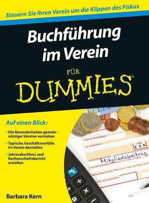 Buchfuhrung Im Verein Fur Dummies - Kern, Barbara