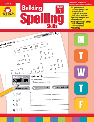 Building Spelling Skills Grade 1 - Evan-Moor Educational Publishers