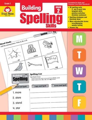 Building Spelling Skills Grade 2 - Evan-Moor Educational Publishers
