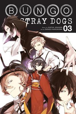 Bungo Stray Dogs, Volume 3 - Asagiri, Kafka, and Harukawa, Sango