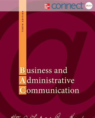 Business and Administrative Communication with Access Code - Locker, Kitty O, and Kienzler, Donna