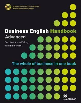 Business English Handbook Advanced - Emmerson, Paul