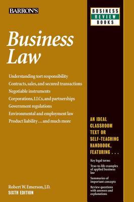 Business Law - Emerson, Robert W