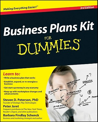 Business Plans Kit for Dummies - Peterson, Steven D, PH.D., and Jaret, Peter, and Schenck, Barbara Findlay