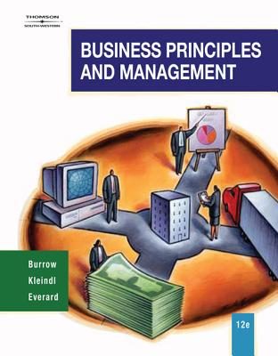 Business Principles and Management - Burrow, James L