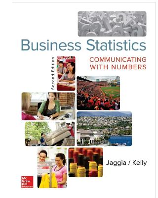 Business statistics communicating with numbers book by sanjiv business statistics communicating with numbers jaggia sanjiv and kelly alison fandeluxe Images