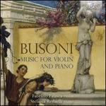 Busoni: Music for Violin and Piano