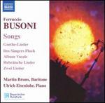 Busoni: Songs