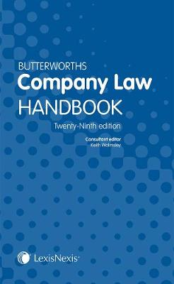 Butterworths Company Law Handbook - Walmsley, Keith