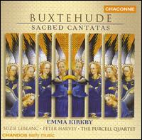 Buxtehude: Sacred Cantatas - Clare Salaman (violin); Emma Kirkby (soprano); Peter Harvey (bass); Purcell Quartet; Richard Boothby (bass viol);...
