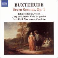 Buxtehude: Seven Sonatas, Op. 1 - Jaap ter Linden (viola da gamba); John Holloway (violin); Lars Ulrik Mortensen (cembalo)