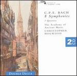 C.P.E. Bach: 8 Symphonies