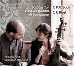 C.P.E. Bach, C.F. Abel: Sonatas for Viola da gamba & Fortepiano