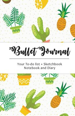 Cactus Bullet Journal: Cactus Dot Grid, 130 Dot Grid Pages, 5.5x8.5, High Productivity & Professional Notebook System - Wade, Lilly, and Cactus Dot Grid (Creator), and Dotted Journal (Creator)