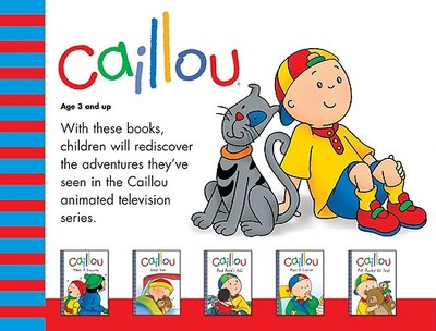 Caillou Boxed Set - Nadeau, Nicole, Ph.D., and CINAR Animation