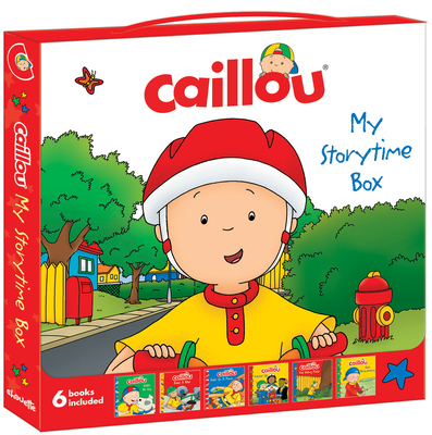 Caillou: My Storytime Box: Boxed Set - Nadeau, Nicole, Ph.D. (Adapted by), and Johnson, Marion (Adapted by), and Allen, Francine (Adapted by), and Harvey, Roger...