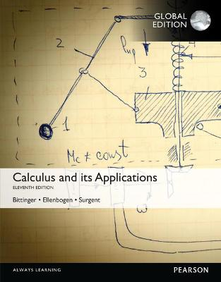 Calculus and its Applications - Bittinger, Marvin L., and Ellenbogen, David J., and Surgent, Scott J.