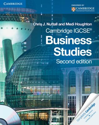 Cambridge IGCSE Business Studies Coursebook with CD-ROM - Nuttall, Chris J., and Houghton, Medi