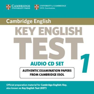 Cambridge Key English Test 1 Audio CD Set (2 CDs): Examination Papers from the University of Cambridge ESOL Examinations - Cambridge ESOL