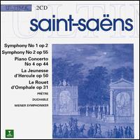 Camille Saint-Saëns: Symphonies Nos. 1 & 2; Piano Concerto No. 4; La Jeunesse d'Hercule; Le Rouet d'Omphale - François-René Duchâble (piano)