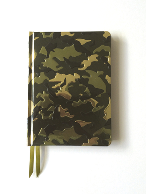Camouflage (Contemporary Foiled Journal) - Flame, Tree