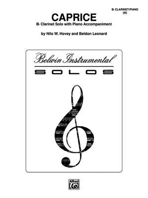 Caprice: Part(s) - Hovey, Nilo W (Composer)