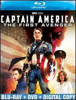 Captain America: The First Avenger [2 Discs] [Blu-ray/DVD] - Joe Johnston