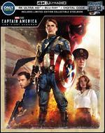 Captain America: The First Avenger [SteelBook] [4K Ultra HD Blu-ray/Blu-ray] [Only @ Best Buy]