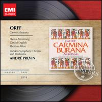 Carl Orff: Carmina Burana - Gerald English (tenor); Sheila Armstrong (soprano); St. Clement Danes Grammar School Boys' Choir; Thomas Allen (baritone);...