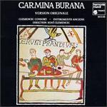 Carmina Burana Version Originale