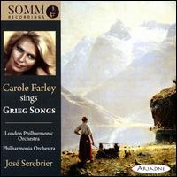 Carole Farley Sings Grieg Songs - Carole Farley (soprano); José Serebrier (conductor)