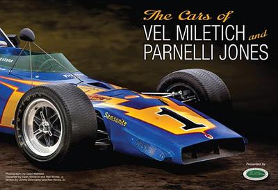 Cars of Vel Miletich and Parnelli Jones - Dilamarter, Jim, and Wicks, Ren