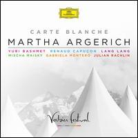 Carte Blanche - Gabriela Montero (piano); Julian Rachlin (violin); Lang Lang (piano); Martha Argerich (piano); Mischa Maisky (cello);...