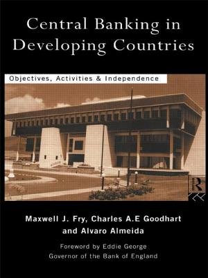 Central Banking in Developing Countries - Fry, Maxwell J, and Almeida Alvaro, and Almeida, ?Lvaro