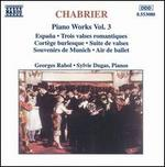 Chabrier: Piano Works, Vol. 3