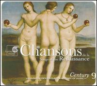 Chansons de la Renaissance - Alfred Deller (counter tenor); Concerto Vocale; Emma Kirkby (soprano); Ensemble Clément Janequin; Huelgas Ensemble;...