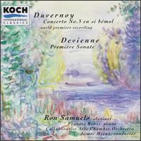 Charles Duvernoy: Concerto No. 3 en si bémol; Francois Devienne: Première Sonate - Francis Renzi (piano); Ron Samuels (clarinet)