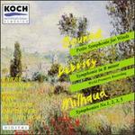 Charles Gounod: Petite Symphonie for Winds; Debussy: Symphonie in B minor; Darius Milhaud: Symphonies Nos. 1, 2, 3 &