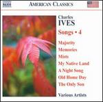 Charles Ives: Songs, Vol. 4
