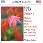 Charles Ives: Songs, Vol. 4
