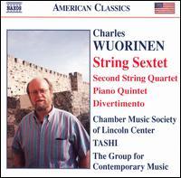 Charles Wuorinen: String Sextet; Piano Quintet; Divertimento - Benjamin Hudson (violin); Carmit Zori (violin); Carol Zeavin (violin); Chamber Music Society of Lincoln Center;...
