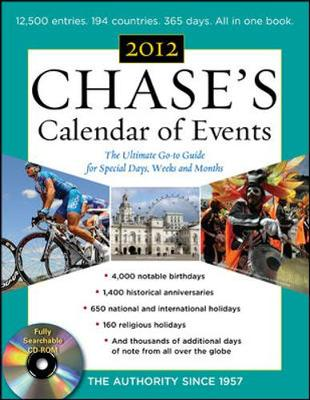 Chases Calendar of Events - Editors of Chase's Calendar of Events (Creator)